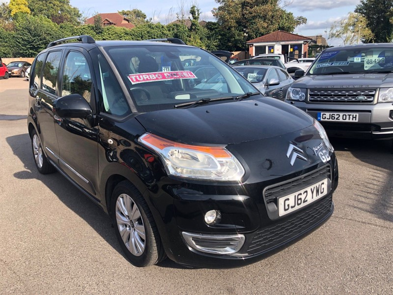 used Citroen C3 Picasso HDi 8v Exclusive in rochester-kent
