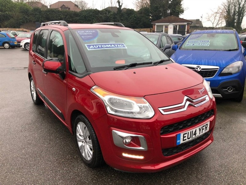 used Citroen C3 Picasso VTi Exclusive EGS6 5dr in rochester-kent