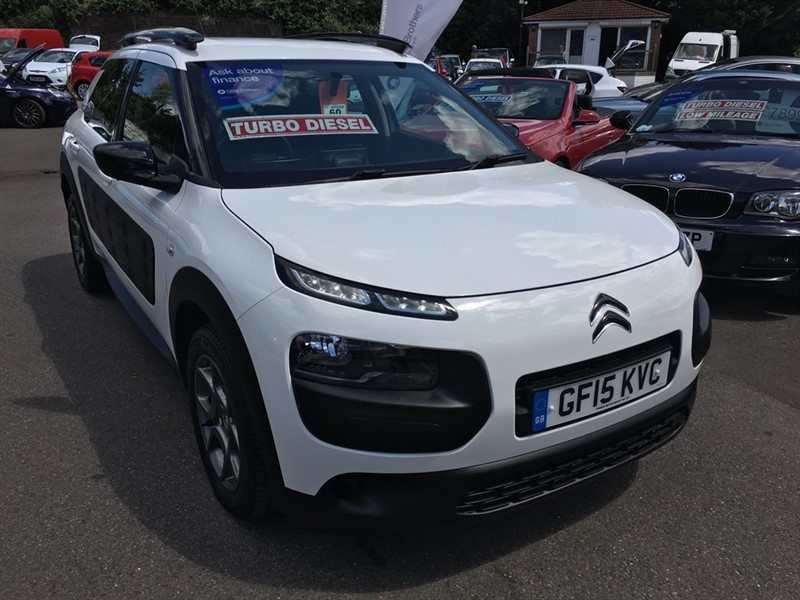 used Citroen C4 Cactus BlueHDi Feel 5dr in rochester-kent