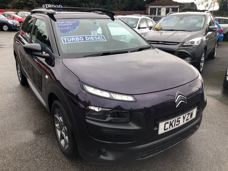used Citroen C4 Cactus BlueHDi Feel (s/s) in rochester-kent