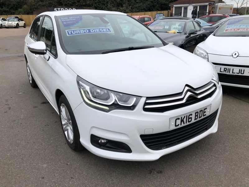used Citroen C4 BlueHDi Flair 5dr in rochester-kent