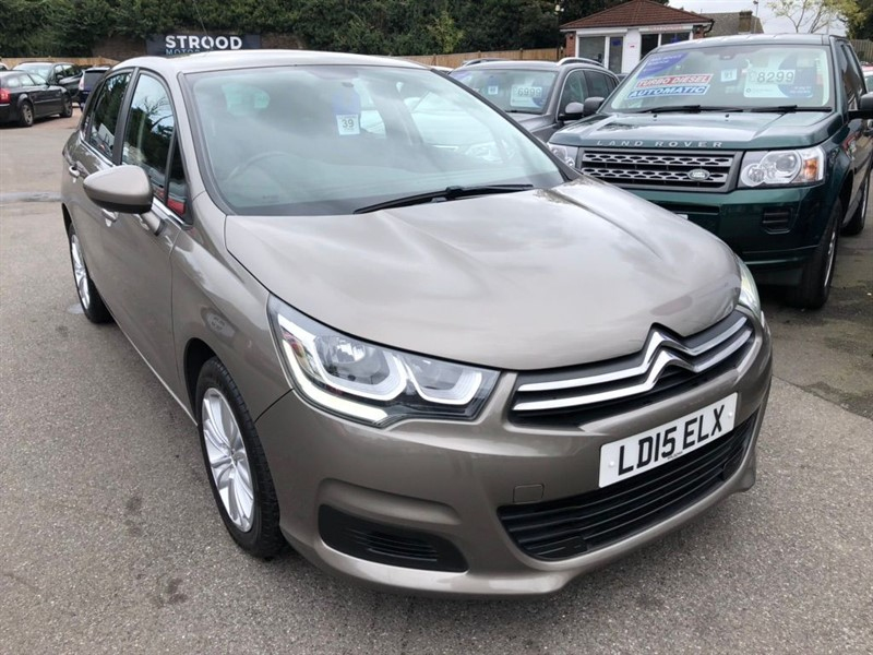 used Citroen C4 BlueHDi Feel 5dr in rochester-kent
