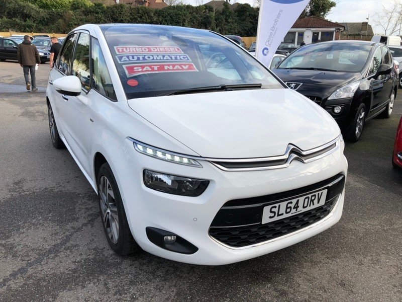 used Citroen C4 Picasso e-HDi Airdream Exclusive+ ETG6 5dr in rochester-kent