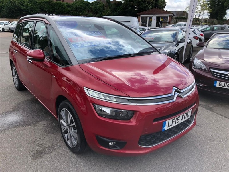 used Citroen C4 Picasso BlueHDi Exclusive (s/s) in rochester-kent