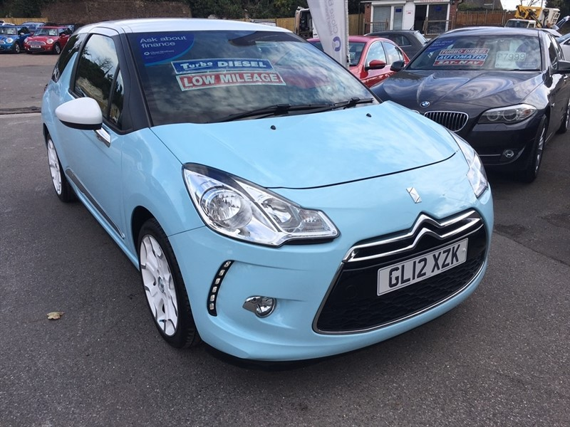 used Citroen DS3 e-HDi Airdream DStyle 3dr in rochester-kent