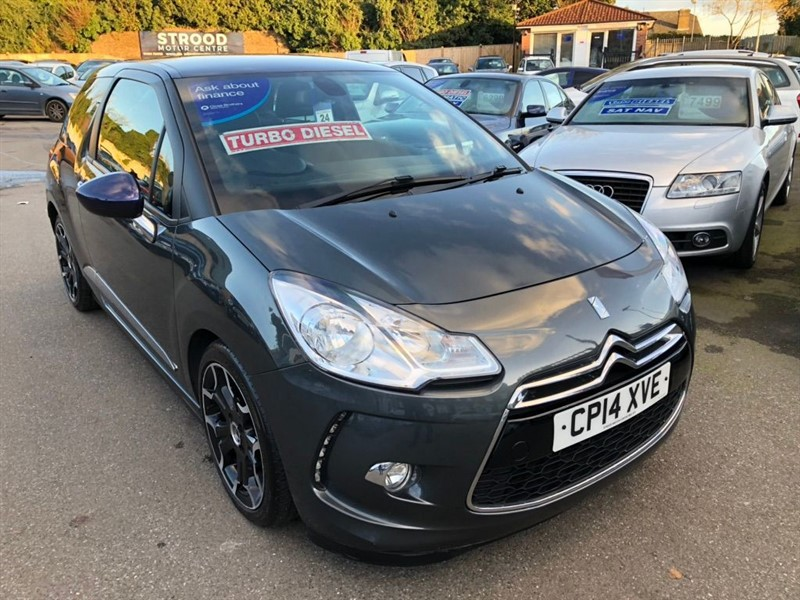 used Citroen DS3 e-HDi Airdream DStyle Plus 3dr in rochester-kent