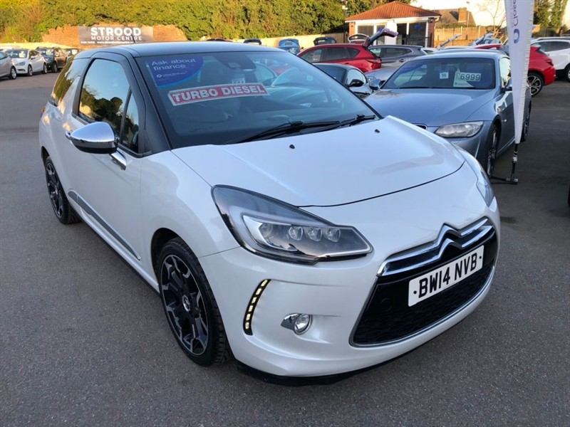 used Citroen DS3 BlueHDi DSport Plus Blue in rochester-kent