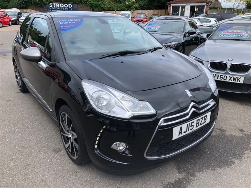 used Citroen DS3 PureTech DStyle Plus (s/s) in rochester-kent