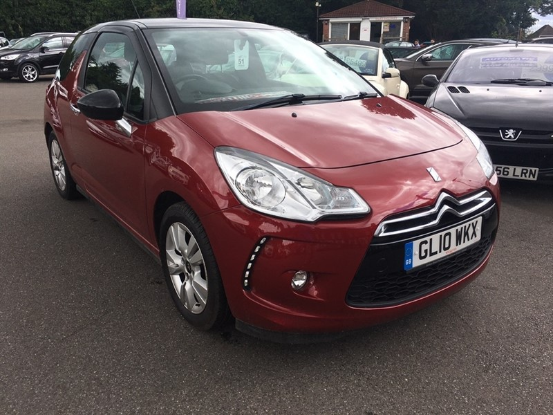 used Citroen DS3 VTi DSign 3dr in rochester-kent