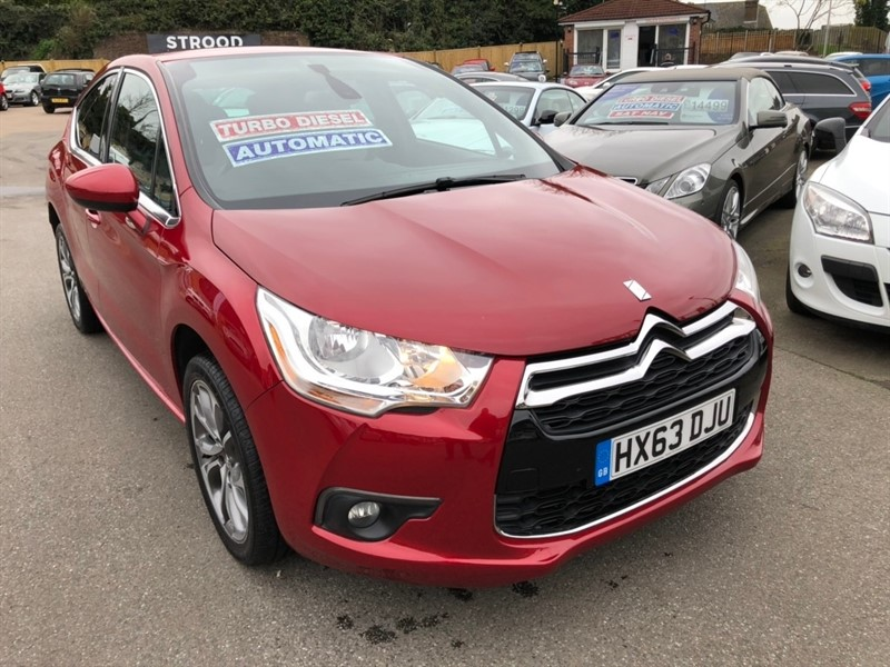 used Citroen DS4 e-HDi Airdream DStyle EGS6 5dr in rochester-kent