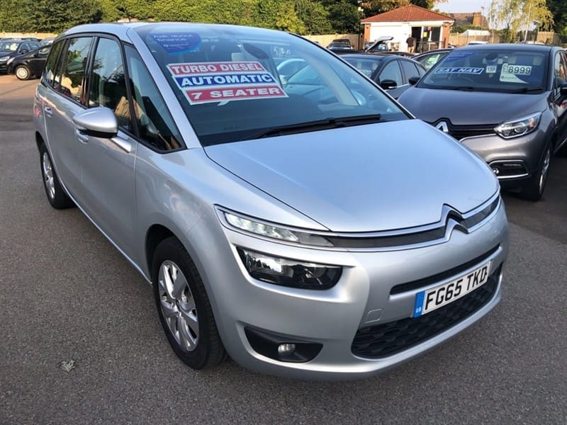 used Citroen Grand C4 Picasso BlueHDi VTR+ EAT6 (s/s) in rochester-kent