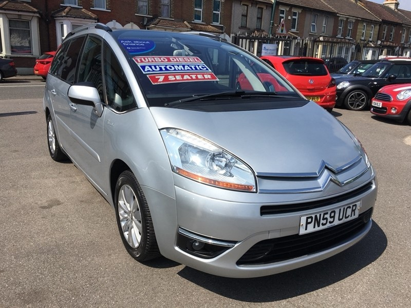 used Citroen Grand C4 Picasso HDi 16v Exclusive EGS 5dr in rochester-kent