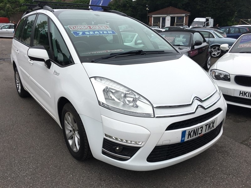 used Citroen Grand C4 Picasso HDi Edition 5dr in rochester-kent