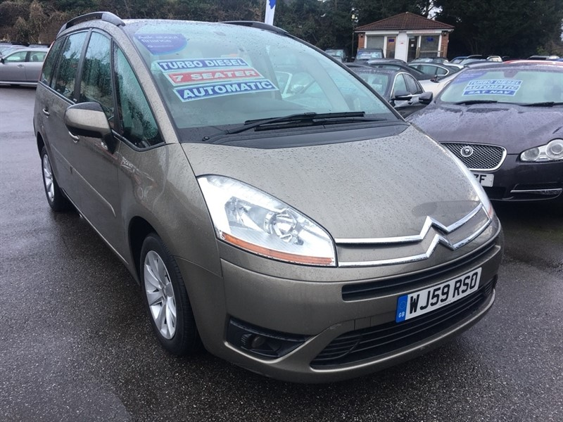 used Citroen Grand C4 Picasso HDi 16v VTR+ EGS 5dr in rochester-kent