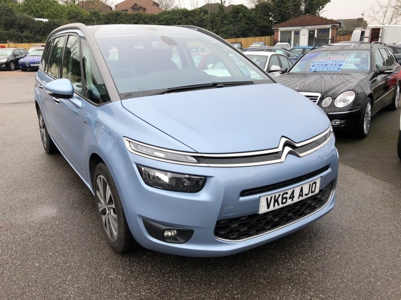 used Citroen Grand C4 Picasso e-HDi Airdream Exclusive 5dr in rochester-kent