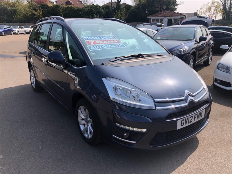 used Citroen Grand C4 Picasso Airdream VTR+ EGS in rochester-kent