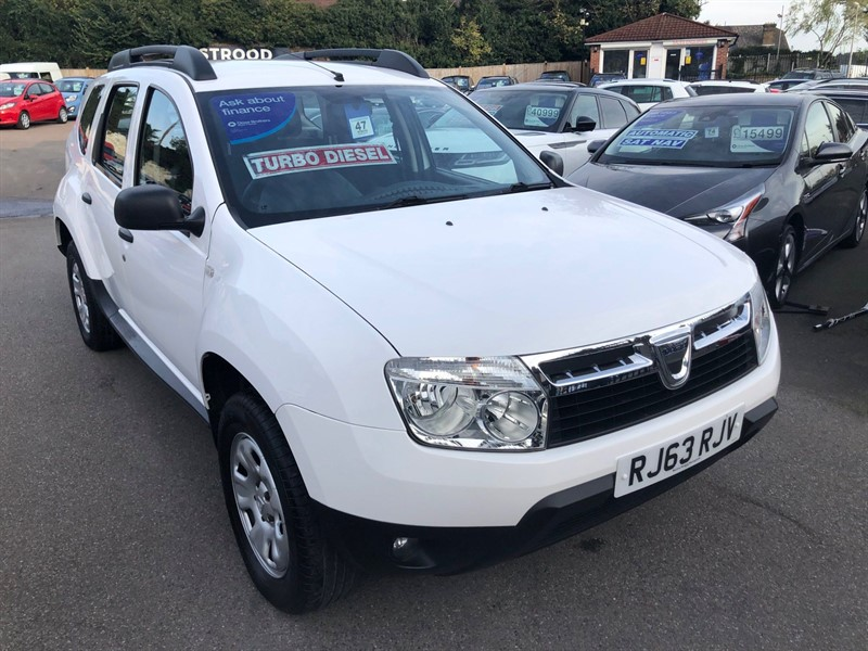 used Dacia Duster Ambiance 4WD in rochester-kent