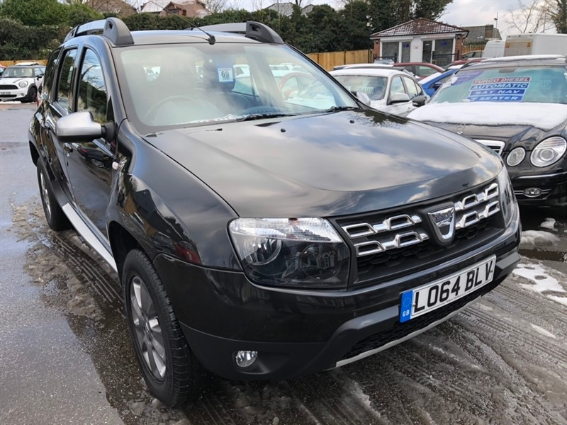 used Dacia Duster dCi Laureate 5dr in rochester-kent