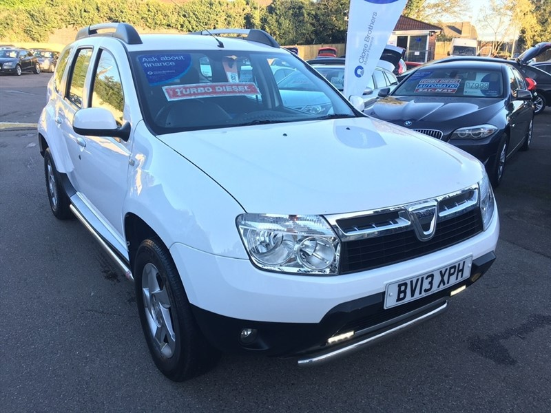 used Dacia Duster dCi Laureate 4x4 5dr in rochester-kent