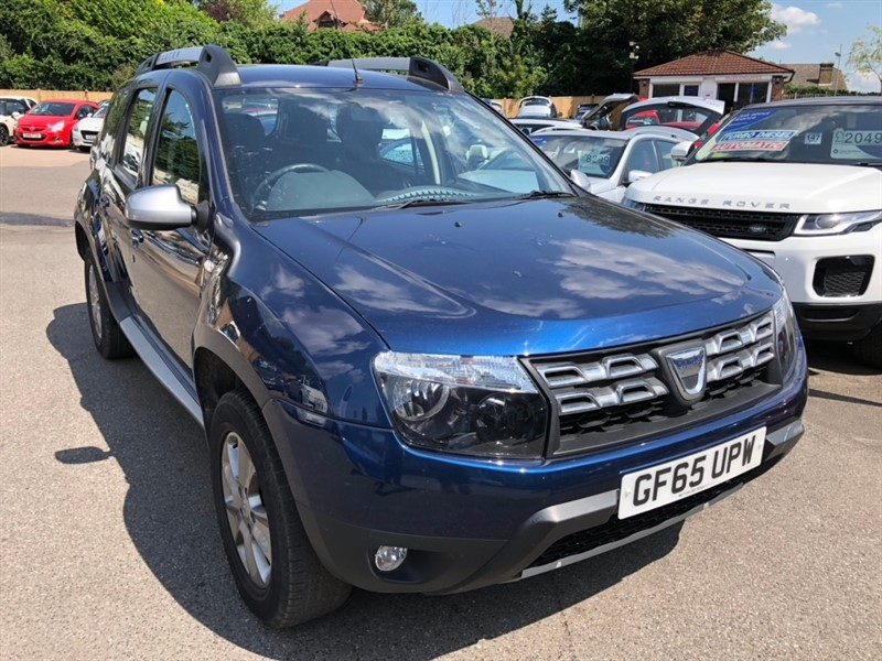 used Dacia Duster dCi Laureate Prime 4WD 5dr in rochester-kent