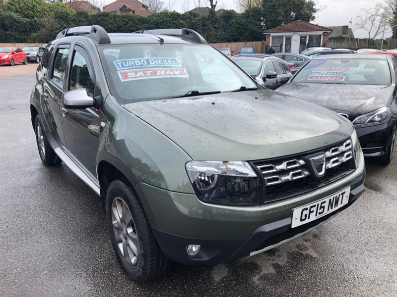 used Dacia Duster Laureate 4WD (s/s) in rochester-kent