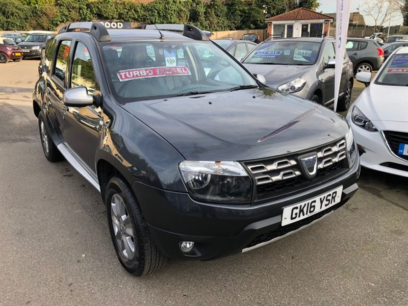 used Dacia Duster dCi Laureate (s/s) 5dr in rochester-kent