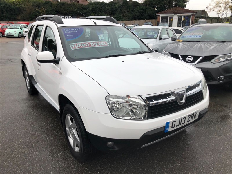 used Dacia Duster Laureate 4WD in rochester-kent