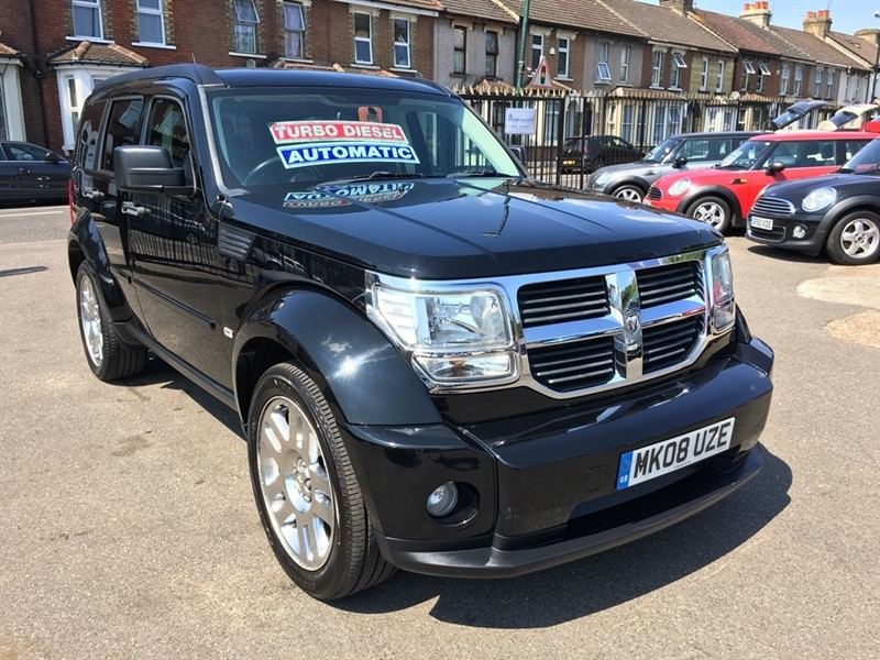 used Dodge Nitro CRD SXT 5dr in rochester-kent