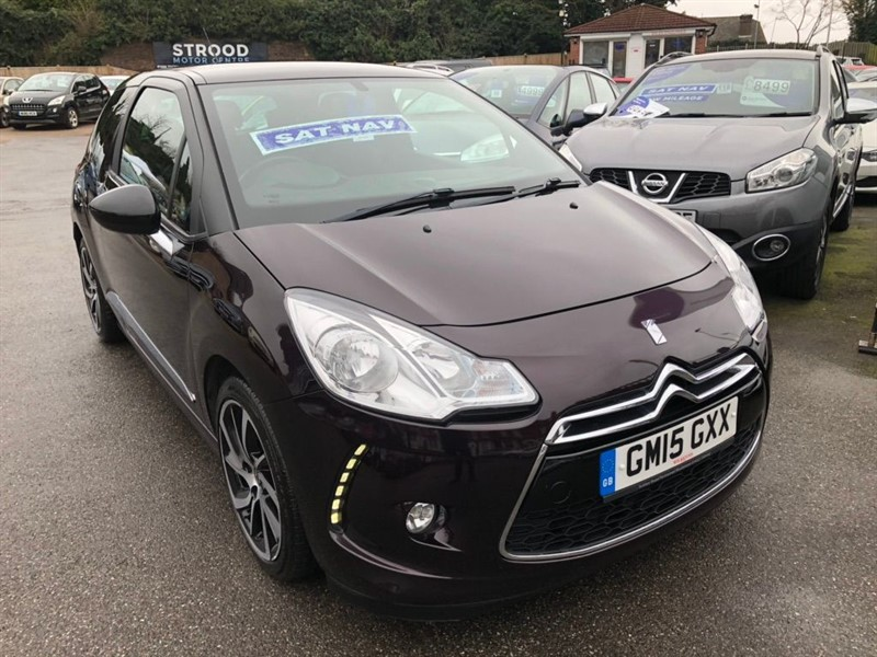 used DS 3 PureTech DStyle Nav (s/s) 3dr in rochester-kent