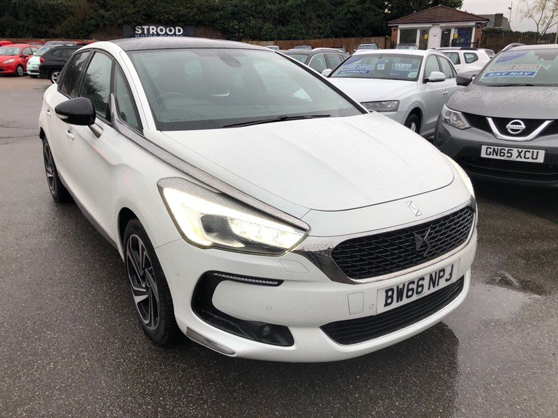 used DS 5 BlueHDi Prestige EAT6 (s/s) in rochester-kent