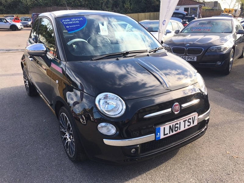 used Fiat 500 TwinAir by Gucci 3dr in rochester-kent