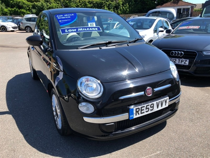 used Fiat 500 1.2 Lounge 3dr in rochester-kent