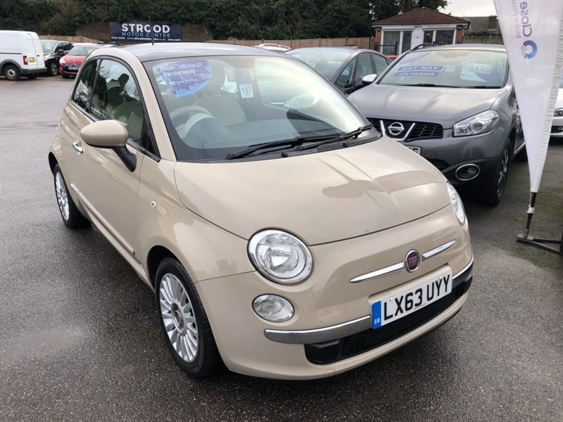 used Fiat 500 TwinAir Lounge (s/s) 3dr in rochester-kent