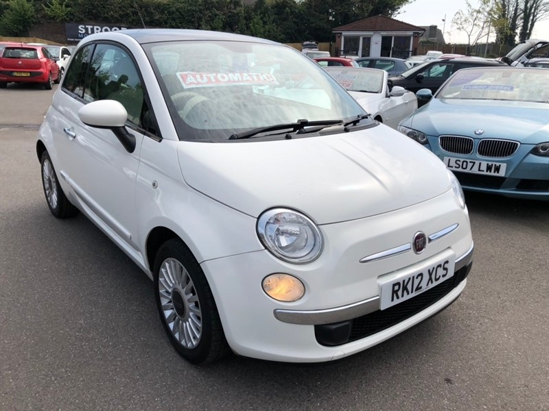 used Fiat 500 1.2 Lounge Dualogic (s/s) 3dr in rochester-kent