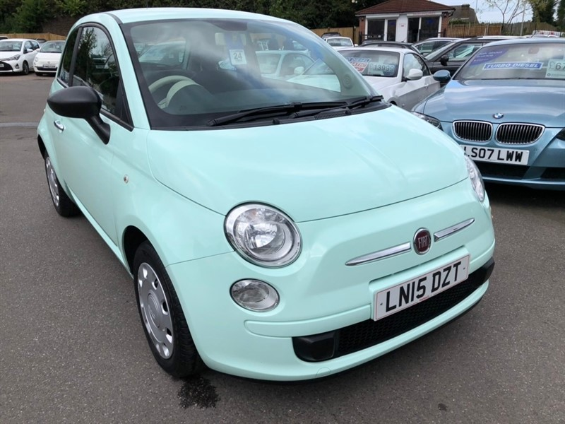 used Fiat 500 1.2 Pop (s/s) 3dr in rochester-kent