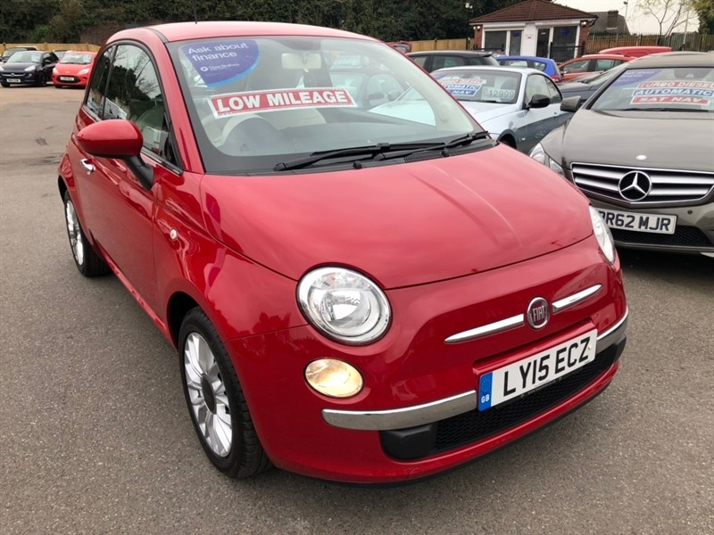 used Fiat 500 1.2 Pop Star (s/s) 3dr in rochester-kent