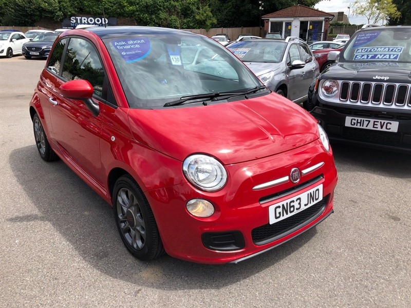 used Fiat 500 1.2 S (s/s) in rochester-kent