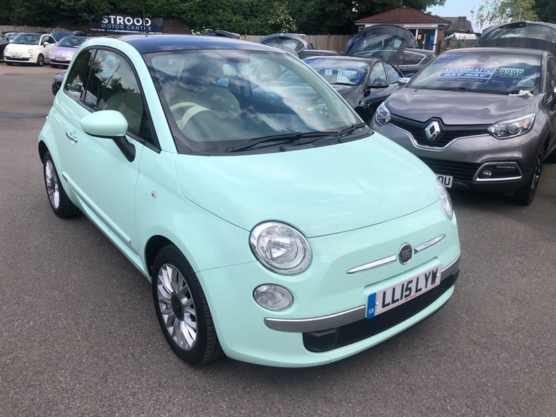 used Fiat 500 1.2 Lounge (s/s) in rochester-kent