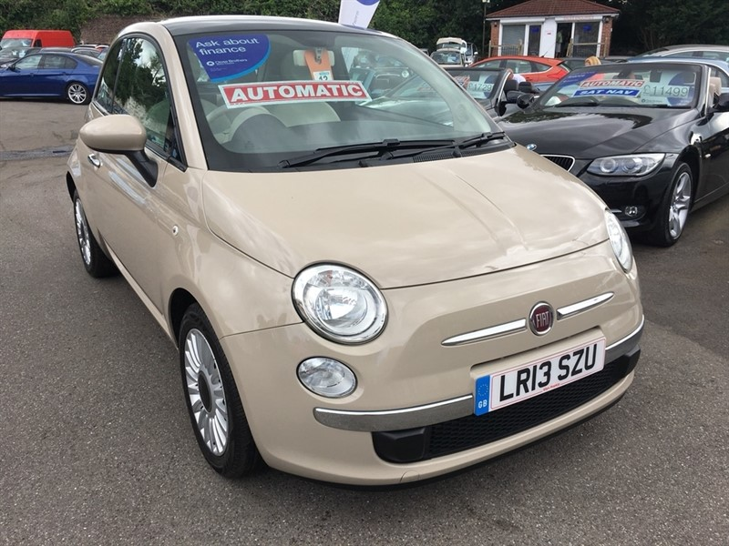 used Fiat 500 1.2 Colour Therapy Dualogic 3dr in rochester-kent