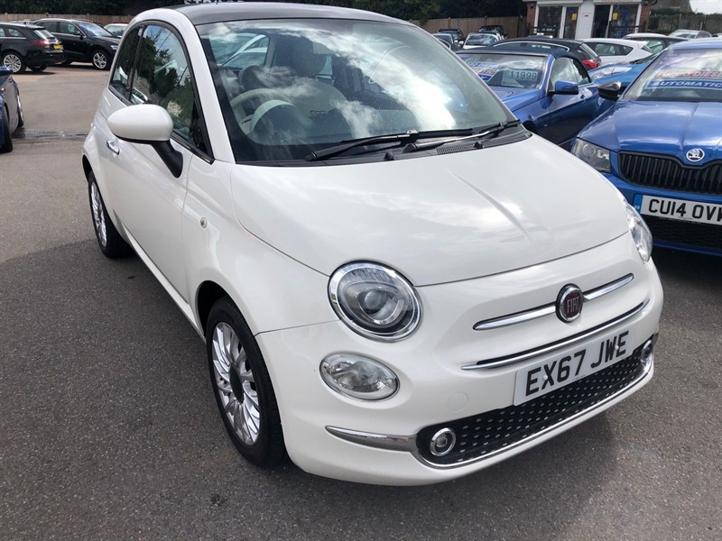 used Fiat 500 1.2 8V Lounge (s/s) in rochester-kent