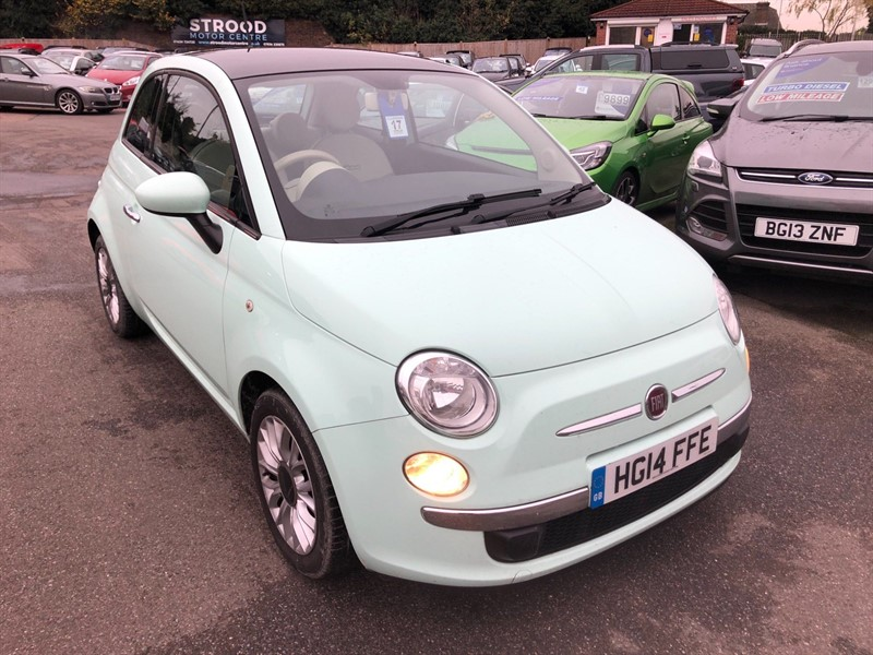 used Fiat 500 TwinAir Lounge in rochester-kent