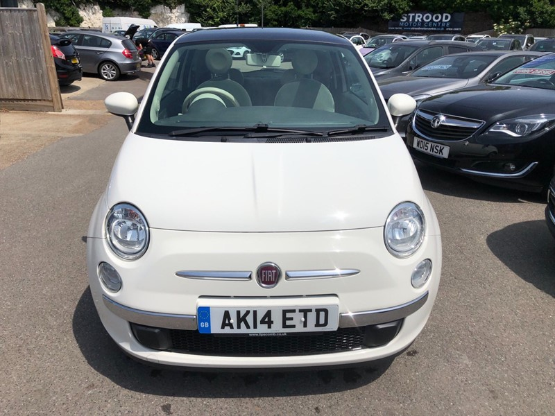 used Fiat 500 1.2 Lounge Dualogic (s/s) in rochester-kent