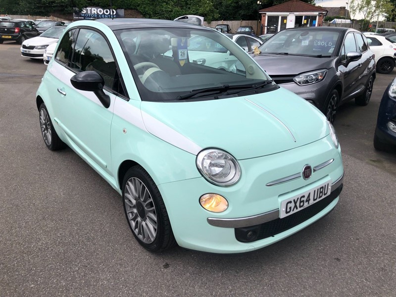 used Fiat 500 Cult (s/s) in rochester-kent