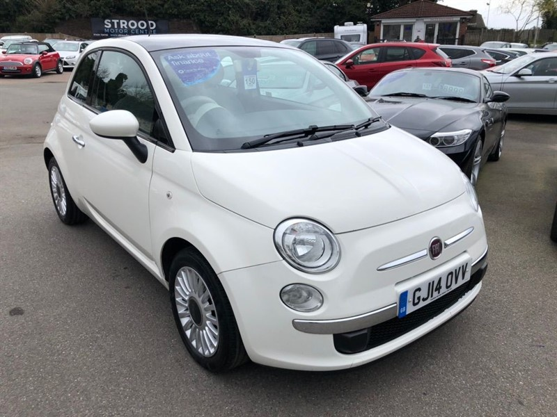 used Fiat 500 1.2 Lounge in rochester-kent