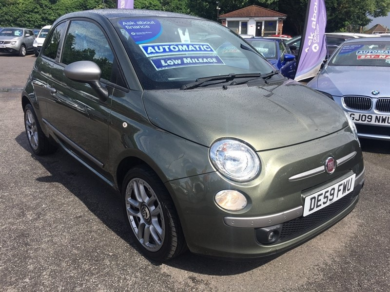 used Fiat 500 16v byDiesel 3dr in rochester-kent
