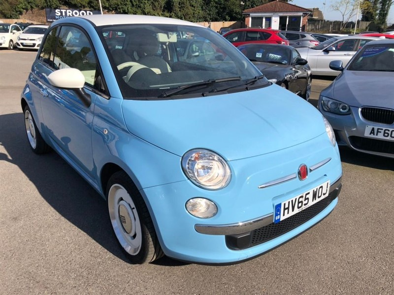 used Fiat 500 1.2 VINTAGE 57 (s/s) in rochester-kent