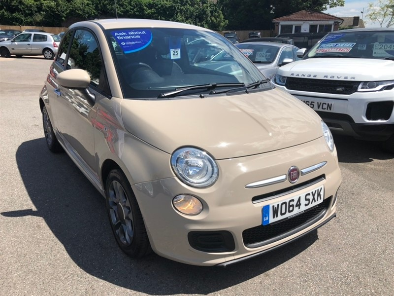 used Fiat 500 1.2 S (s/s) 3dr in rochester-kent