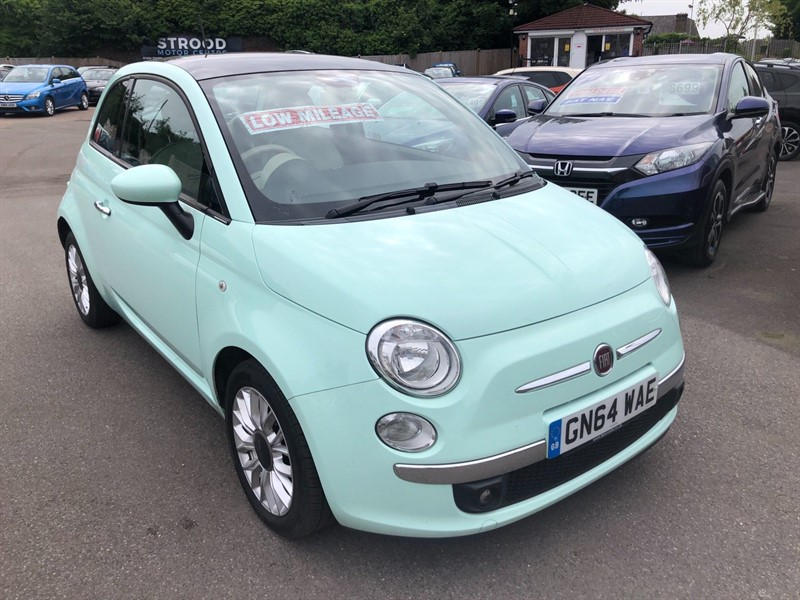 used Fiat 500 TwinAir Lounge (s/s) in rochester-kent