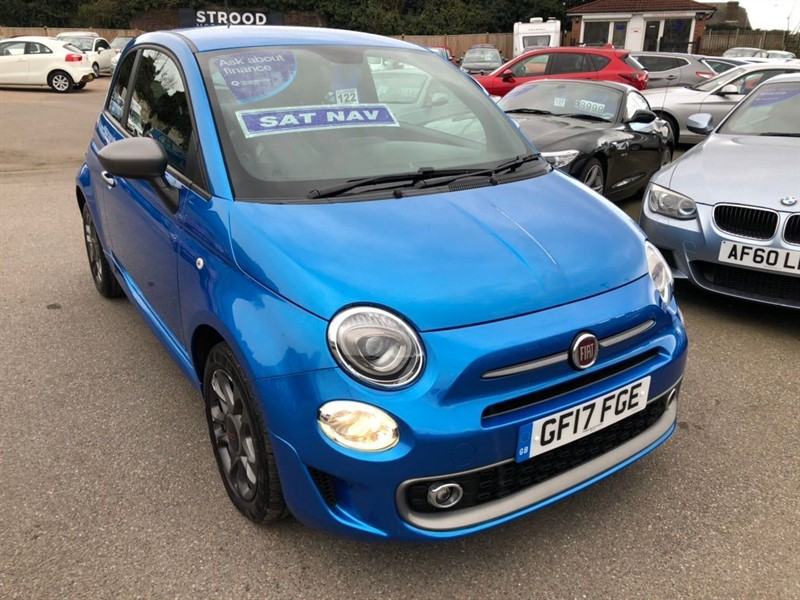 used Fiat 500 1.2 8V S (s/s) in rochester-kent