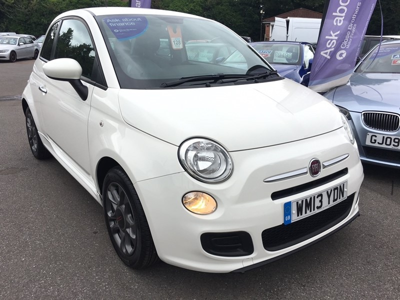 used Fiat 500 1.2 S 3dr (start/stop) in rochester-kent